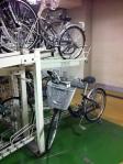 Mittwochs-Parkplatz + mein Fahrrad